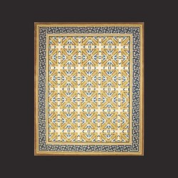 Hand Tufted Rug M0154