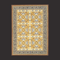 Hand Tufted Rug M0566